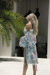 Short Boho Robe - Ivory - Homebodii US