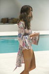 Short Boho Robe - Blush - Homebodii US