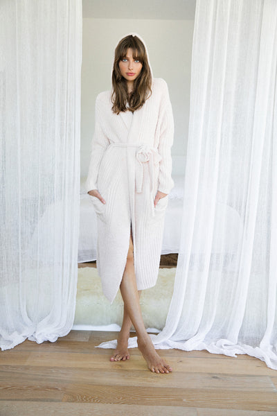 Ultimate Lux Robe - Blush - Homebodii US