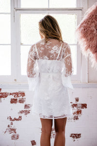 Audrey Lace Robe