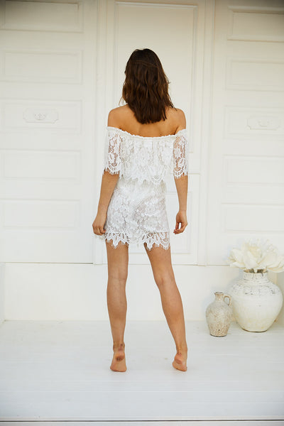 Juannie Lace Dress - Homebodii US
