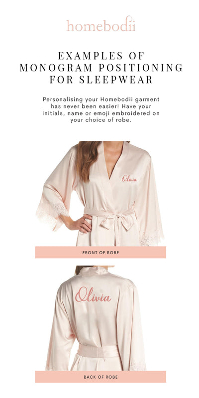 Sabrina Piping Robe - Homebodii US