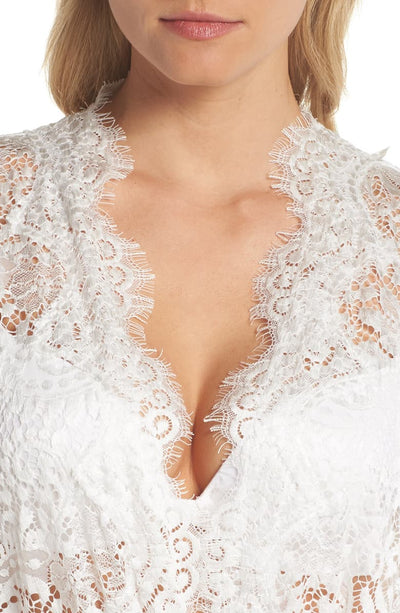 Anémone Lace Robe - Homebodii US