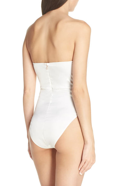 Brooklyn Bodysuit - White - Homebodii US