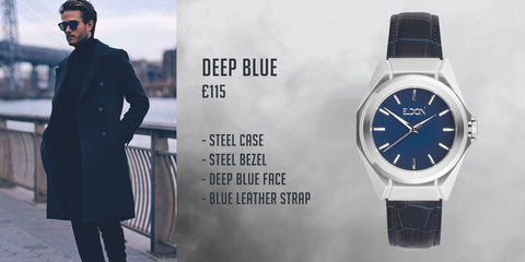 Eldon Watches Blog Blue Watch Pinterest Style