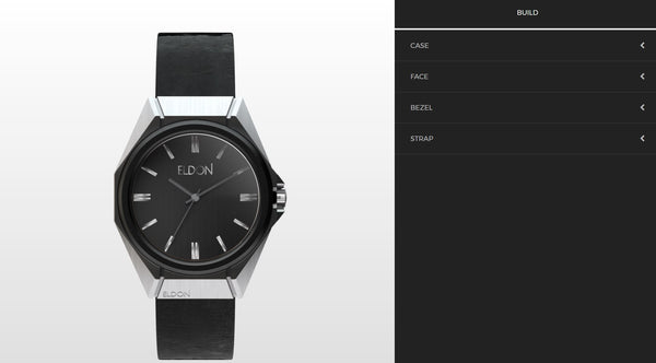 Build Your Own Interchangeable Watch - Eldon Watches