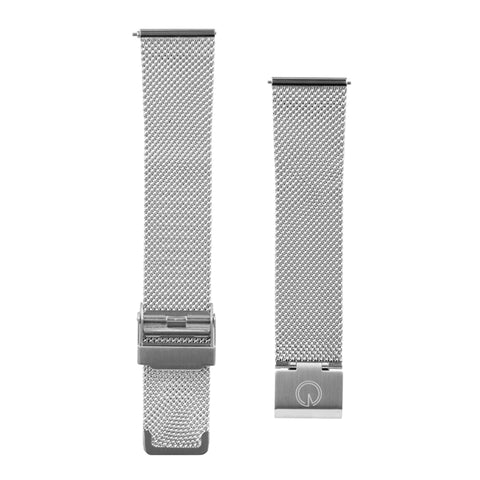 Stainless Steel Silver Milanese Interchangeable Watch Strap