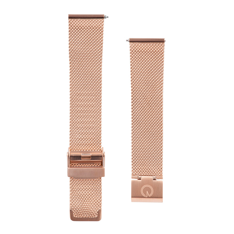 Rose Gold Milanese Interchangeable Watch Strap