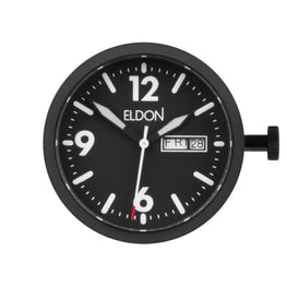 Mens Watches - Modular Stealth Black Face - Interchangeable Watch
