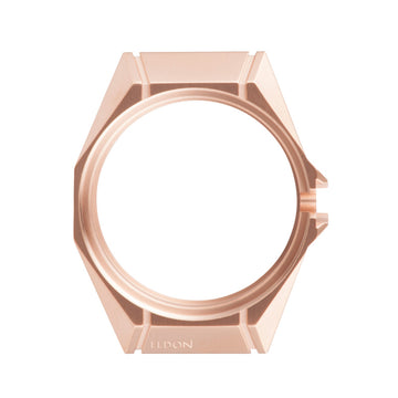 Brushed Rose Gold Case