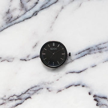The All Black Slimline Modular Watch Face
