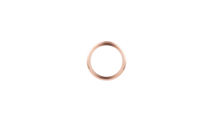 Brushed Rose Gold Bezel