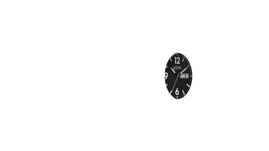 Stealth Black Original Modular Watch Face