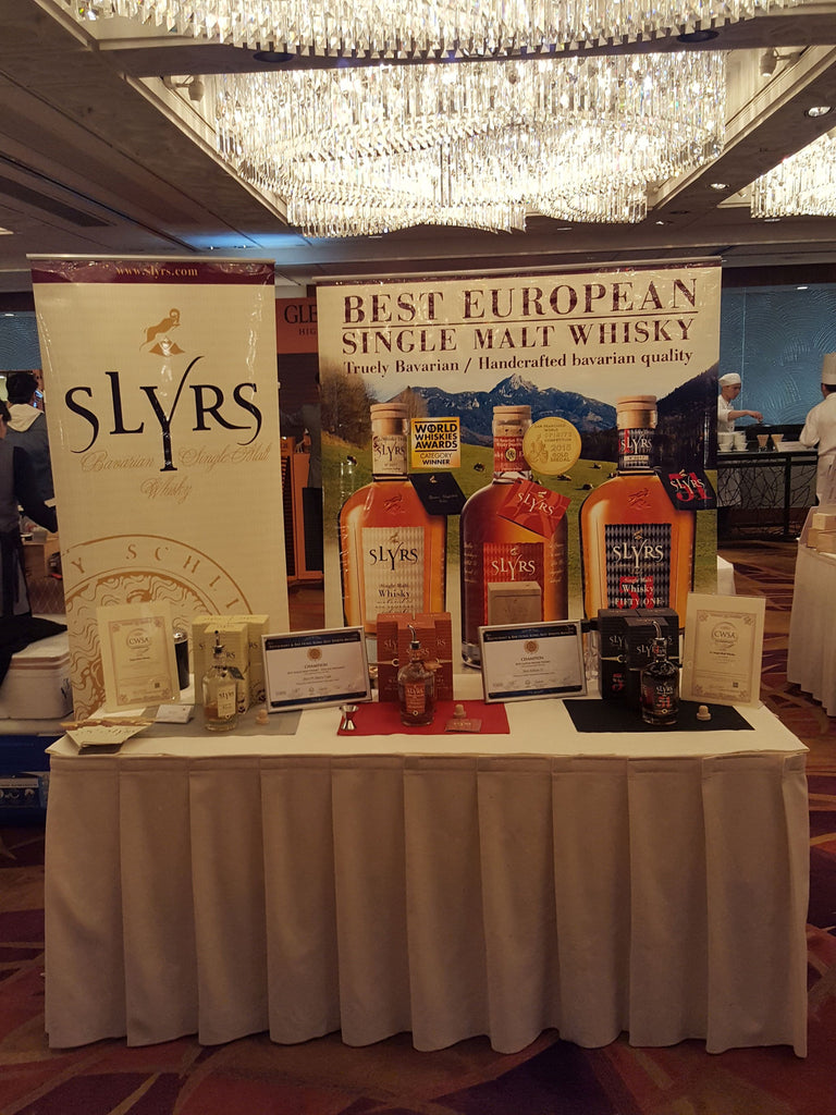 SLYRS at Hong Kong Whisky Festival
