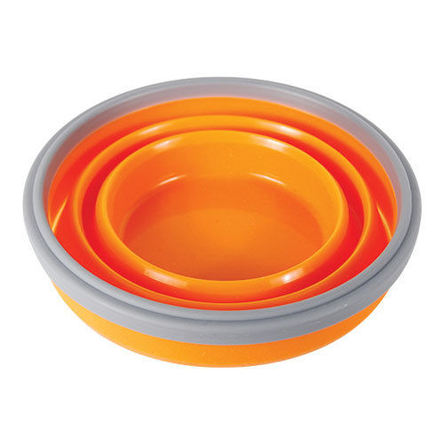 FlexWare Bowl 2.0 heat resistant BPA-free silicon dishwasher microwave safe