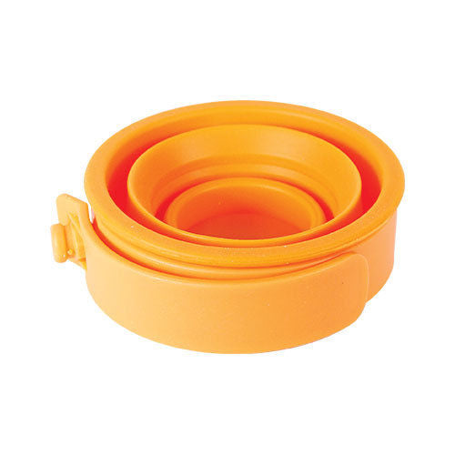 FlexWare Mug fold-out handle heat-resistant BPA-free silicone Camp kitchen ware