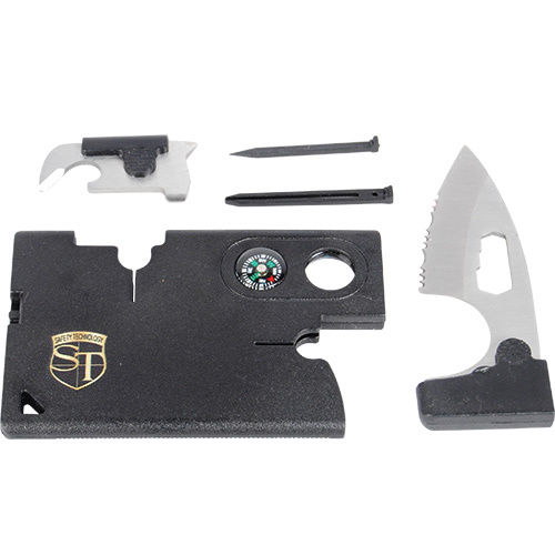 Multi Function Combination Tool Card Survival tool bug-out bag Security Police