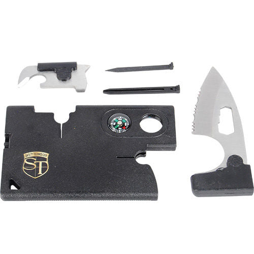 TEN Multi Function Combination Tool Cards Survival tool bug-out bag Security