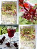 Roselle Hibiscus 20 Tea Bag Herb ORGANIC Healthy Drink Thai