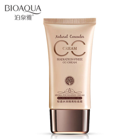BIOAQUA isolation CC cream BB natural moisturizing cream upgrade nude make-up Concealer strong foundation of genuine direct sale