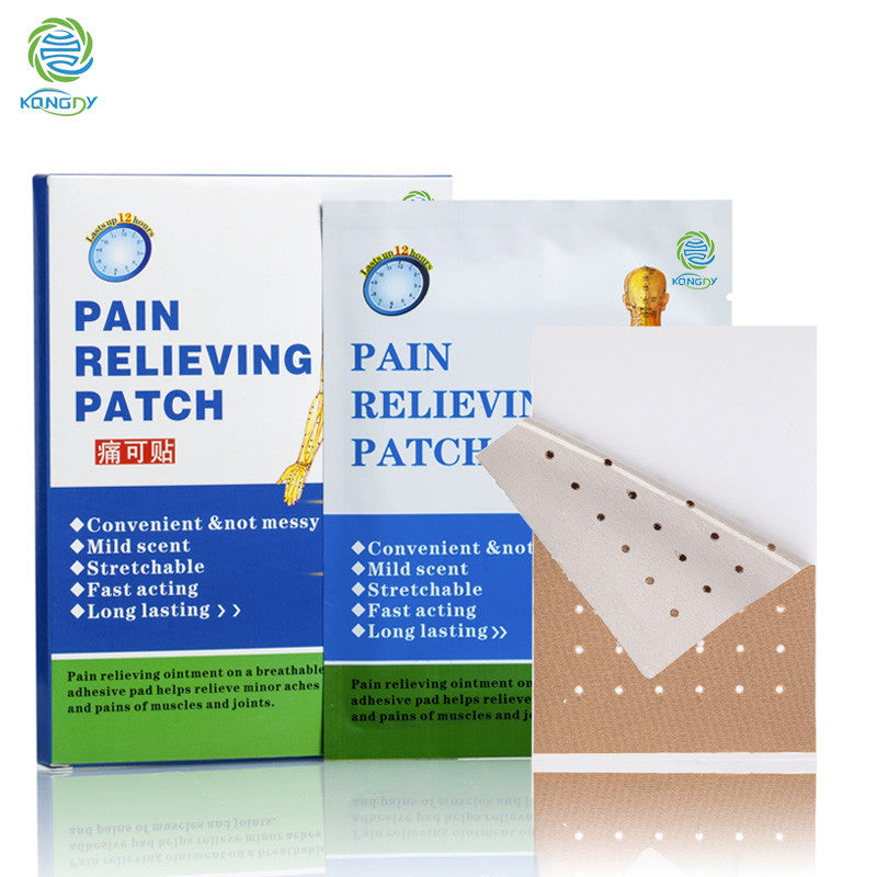 Hot Selling Hot Capsicum Porous Body Pain Care Patch 6 Pieces in One Box - Asia Skin