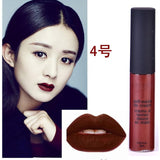 Liquid Matte Long Lasting Waterproof 12 Colors Velvet Selena Lipstick - Asia Skin