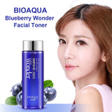 BIOAQUA Blueberry Wonder Face Toner Mild Skin Tonic Simple Smooth Facial Toner For Dry Oily Sensitive Combination Skin Women - Asia Skin Products