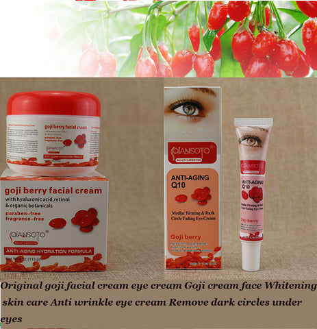 Original goji facial cream Whitening skin care Anti wrinkle eye cream Remove dark circles under eyes - Asia Skin Products
