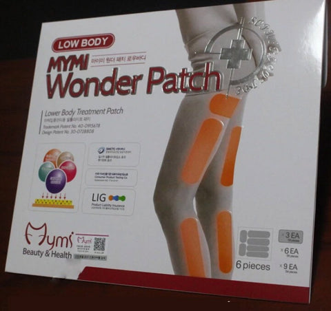 MYMI wonder patch for leg body slimming patches 18 pcs - Asia Skin