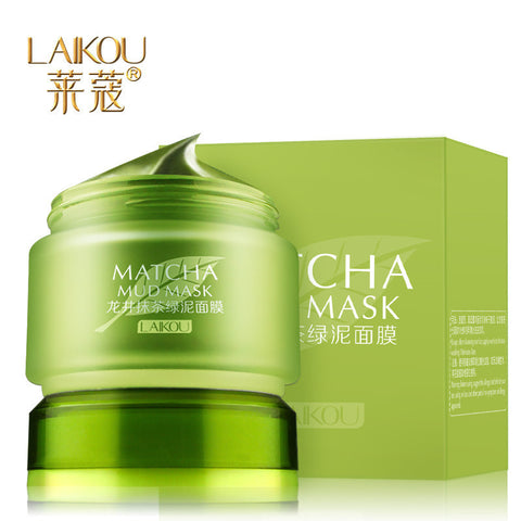 MATCHA Mud Mask Ph Balance Deep Clean Pores Mask - Asia Skin
