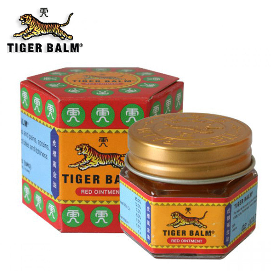 Red Tiger Balm Ointment Thailand Muscle Pain Relief Soothe itch - Asia Skin