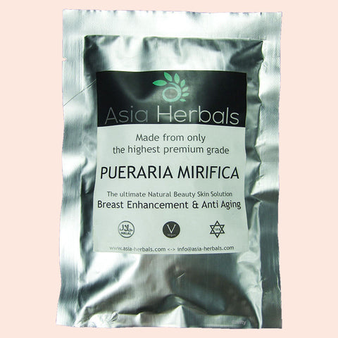 100 CAPS PUERARIA MIRIFICA 500mg BREAST FIRMING BUST ENLARGEMENT - Asia Skin