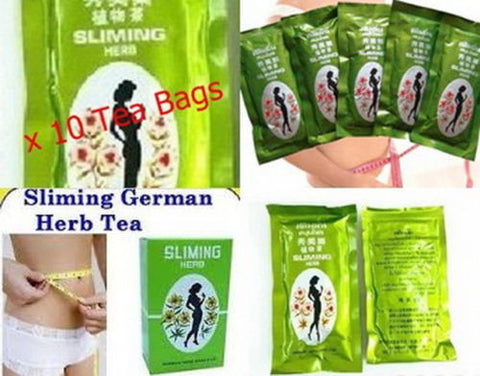 10 BAGS GERMAN HERB SLIMMING TEA - Asia Skin