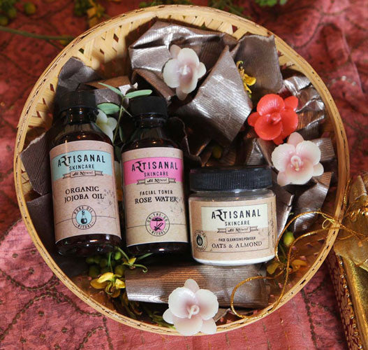 Body Spa Hamper for Dull Skin India