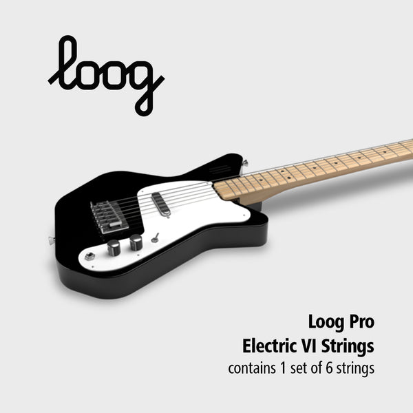 Loog Pro Electric Guitar VI Strings