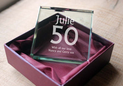 Personalised Engraved Jade Blocks