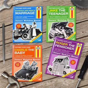 Personalised Haynes Manuals