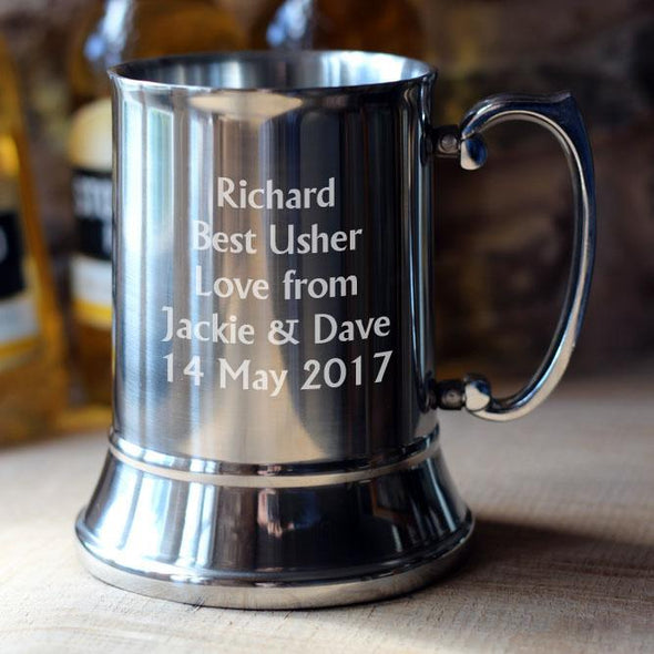 Personalised Tankards and Glasses