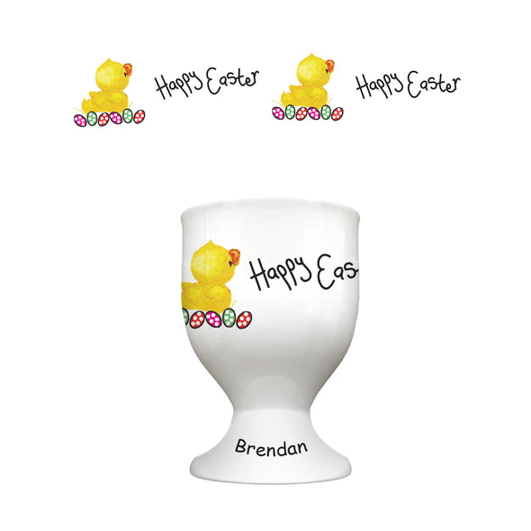 Easter Chick Bone China Egg Cup