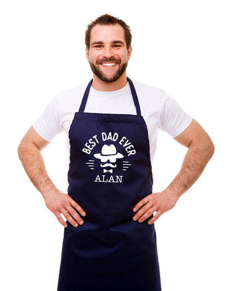 Personalised Best Dad Apron