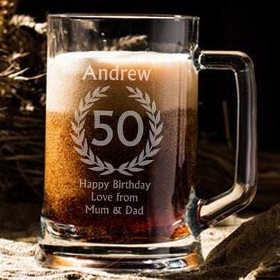 Birthday Beer Tankard (1pint)
