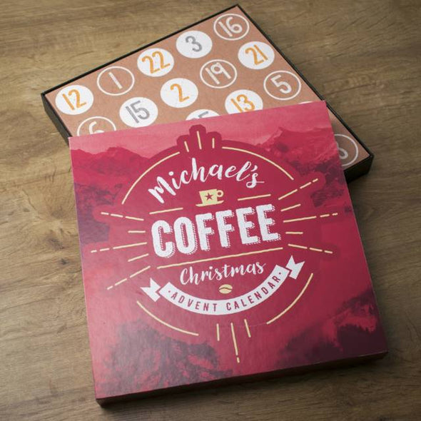 Personalised Coffee Advent Box