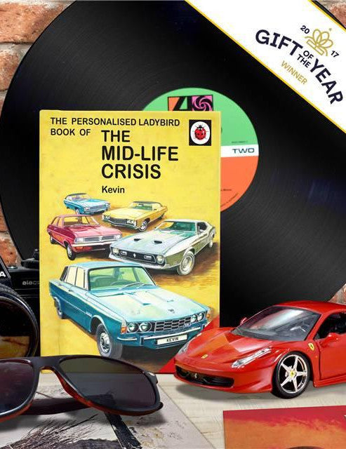 Personalised Ladybird Book How it Works series on 'The Midlife Crisis' - PersonalisedGoodies.co.uk