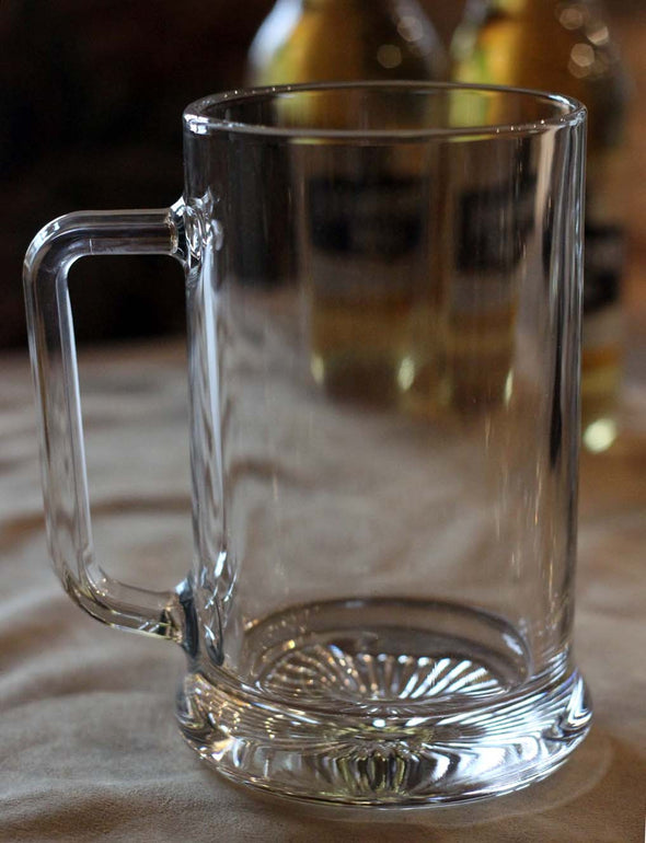 Personalised Glass Tankard - PersonalisedGoodies.co.uk