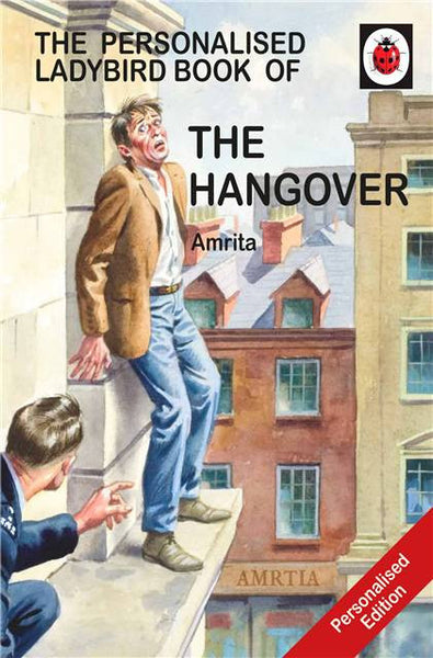Personalised Ladybird Book 'How it Works' The Hangover