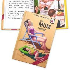 Personalised Ladybird Book 'How it Works' The Mum