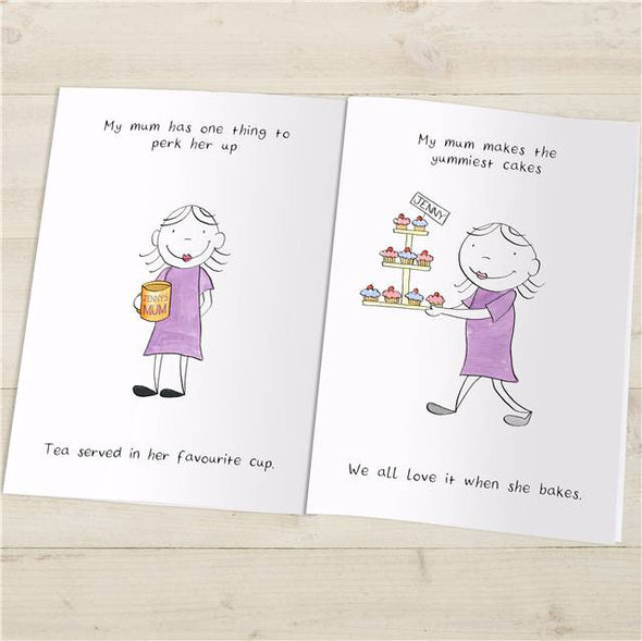 Personalised 'My Mum' Book - PersonalisedGoodies.co.uk