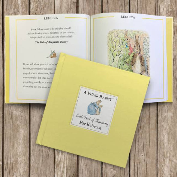 Peter Rabbit Little Book of Harmony - Personalised