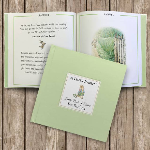 Peter Rabbit Little Book of Virtue - Personalised