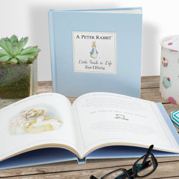 Peter Rabbit Little Guide to Life - Personalised